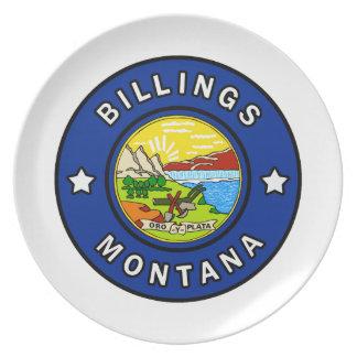 Assiettes En Mélamine Facturations Montana