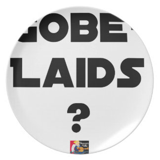 Assiettes En Mélamine Gobe-Laids ?! - Jeux de Mots - Francois Ville