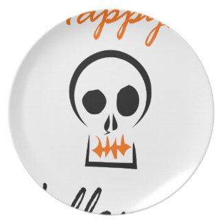 Assiettes En Mélamine Halloween heureux