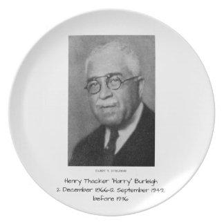 "Assiettes En Mélamine Henry Thacker ""Harry"" Burleigh"
