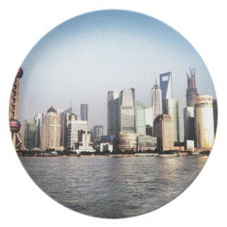 Assiettes En Mélamine Horizon de Changhaï Chine