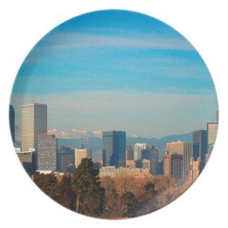 Assiettes En Mélamine Horizon de Denver le Colorado