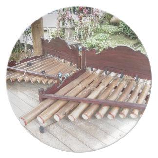 Assiettes En Mélamine Instruments de musique de Bali