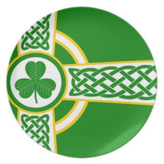Assiettes En Mélamine Irish_Celtic_Cross