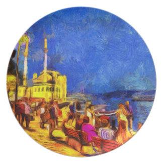 Assiettes En Mélamine Istanbul Van Gogh