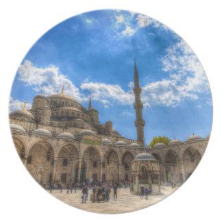 Assiettes En Mélamine La mosquée bleue Istanbul