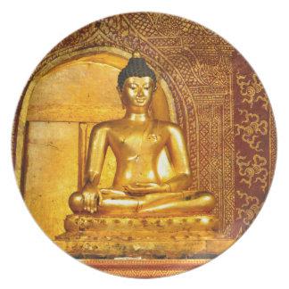 Assiettes En Mélamine la Thaïlande Bouddha