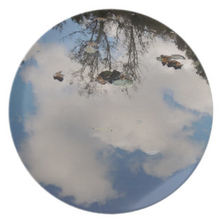 Assiettes En Mélamine Le ciel dans l'eau