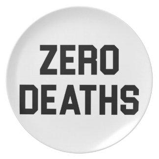 Assiettes En Mélamine Les décès zéro