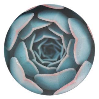 Assiettes En Mélamine Macro impression florale unisexe extraordinaire en