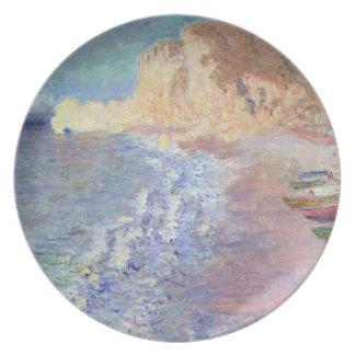 Assiettes En Mélamine Matin de Claude Monet | chez Etretat