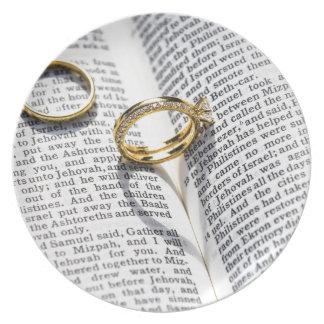 Assiettes En Mélamine Ministère chrétien de bible de mariage