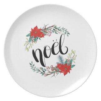 Assiettes En Mélamine Noel