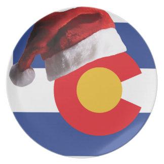 Assiettes En Mélamine Noël dans le Colorado