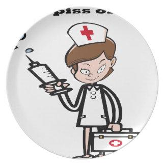 Assiettes En Mélamine nurse7
