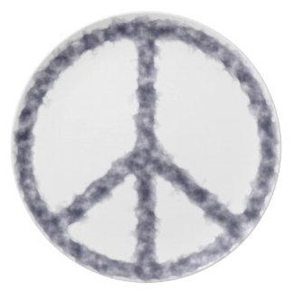Assiettes En Mélamine peace19
