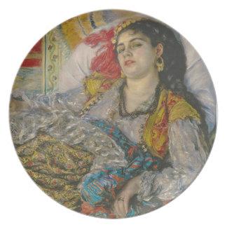 Assiettes En Mélamine Pierre Olympia de Renoir |