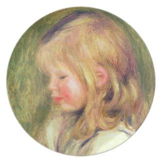 Assiettes En Mélamine Pierre un enfant de Renoir | dans une lecture