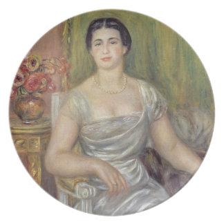 Assiettes En Mélamine Pierre un portrait de Renoir | d'A.