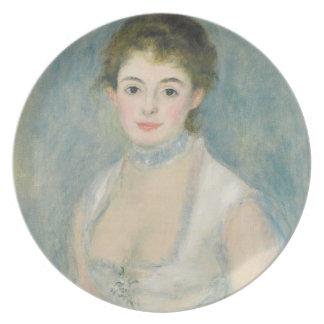 Assiettes En Mélamine Pierre une Madame Henriot de Renoir |