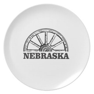 Assiettes En Mélamine pionnier du Nébraska