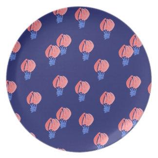 Assiettes En Mélamine Plat de mélamine de ballons à air