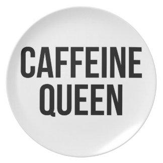 Assiettes En Mélamine Reine de caféine