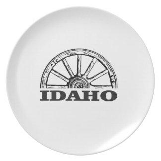 Assiettes En Mélamine Roues de l'Idaho