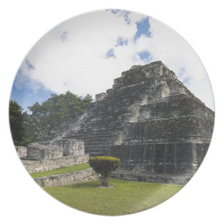 Assiettes En Mélamine Ruines maya de Chacchoben de Maya de côte