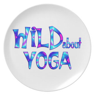 Assiettes En Mélamine Sauvage au sujet du yoga