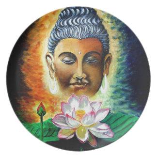 Assiettes En Mélamine seigneur Bouddha
