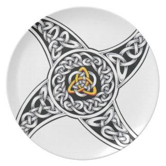 Assiettes En Mélamine symbole de celtique-guerriers