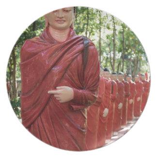 Assiettes En Mélamine Temple de Nellikulama de 500 Arahants, Sri Lanka