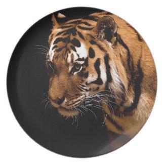 Assiettes En Mélamine Tiger