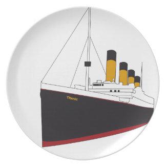 Assiettes En Mélamine titanic original