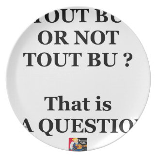Assiettes En Mélamine TOUT BU OR NOT TOUT BU ? That is LA QUESTION