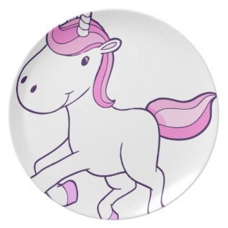 Assiettes En Mélamine unicorn11