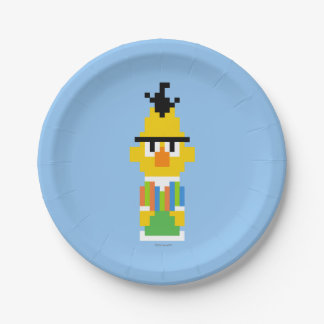 Assiettes En Papier Art de pixel de Bert
