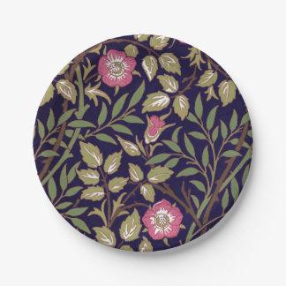 Assiettes En Papier Art floral Nouveau de Briar doux de William Morris