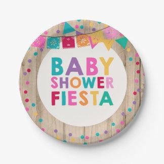 Assiettes En Papier Baby shower de Mexicain de plaque à papier de baby