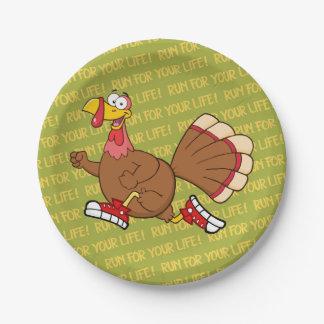 Assiettes En Papier Bande dessinée de la Turquie de vacances