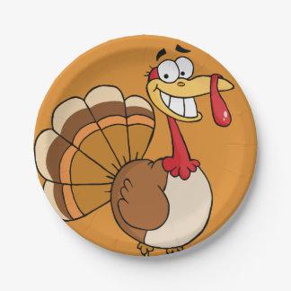 Assiettes En Papier Bande dessinée finale du souhait de la Turquie de