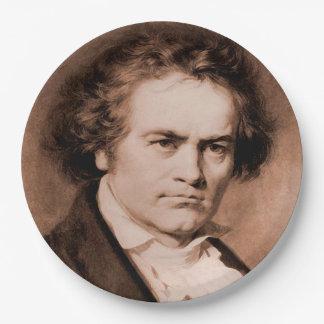Assiettes En Papier Beethoven