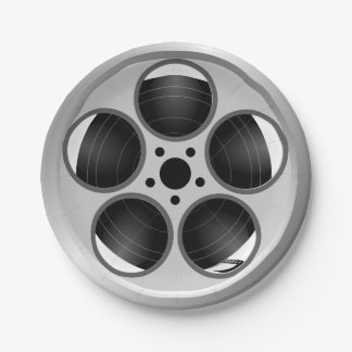 Assiettes En Papier Bobine de pellicule cinématographique de home