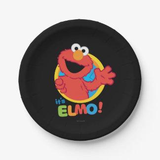 Assiettes En Papier C'est Elmo