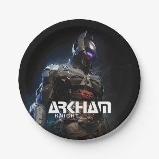 Assiettes En Papier Chevalier de Batman | Arkham