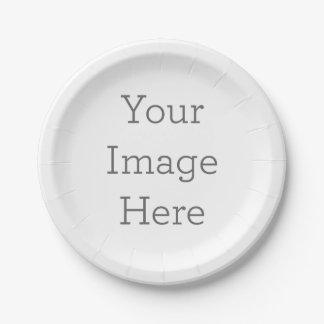 Assiettes En Papier Créez vos propres