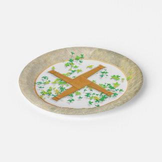 Assiettes En Papier Croix de Brighid
