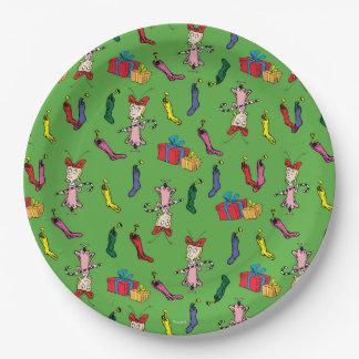 Assiettes En Papier Dr. Seuss | le Grinch | Cindy Lou qui modèlent