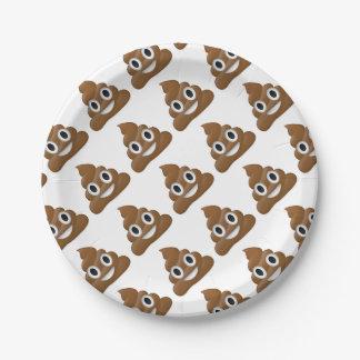 Assiettes En Papier Dunette-emoji hilare d'amusement - conception de
